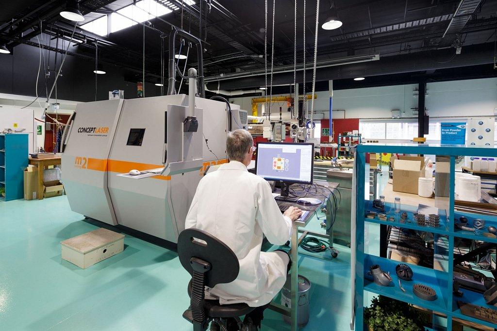 CSIRO 3D Printing Lab