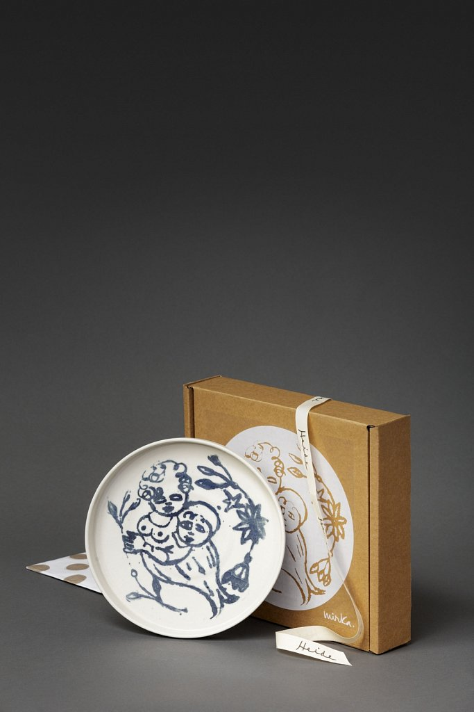 Mirka Mora Plate // Heide MOMA